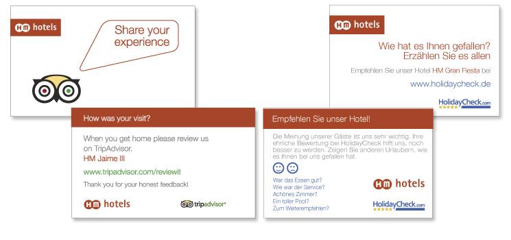 Tarjetas de fidelización para HM Hotels